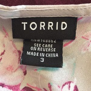 torrid Tops - 3/3X Torrid Top
